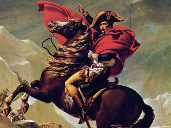 Napoleon-on-horseback