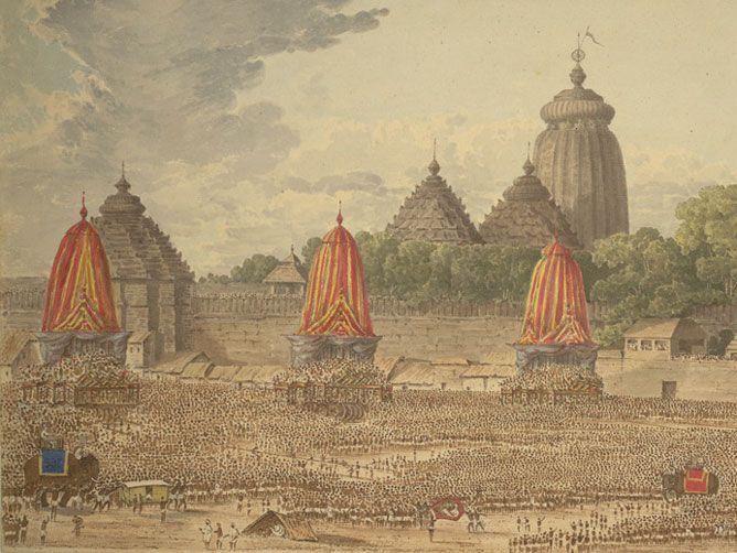 Sri Ratha Yatra in Puri
