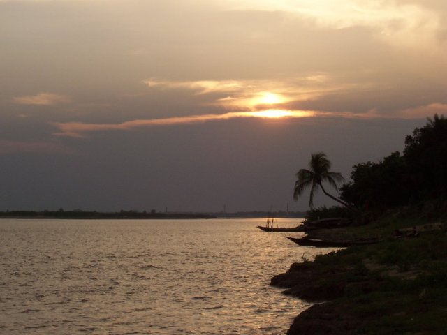 The Padma River at Rajshahi