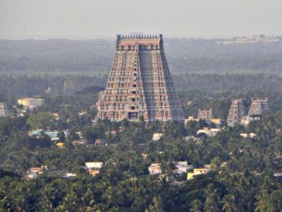 The Temple of Ranganath in Sri Rangam