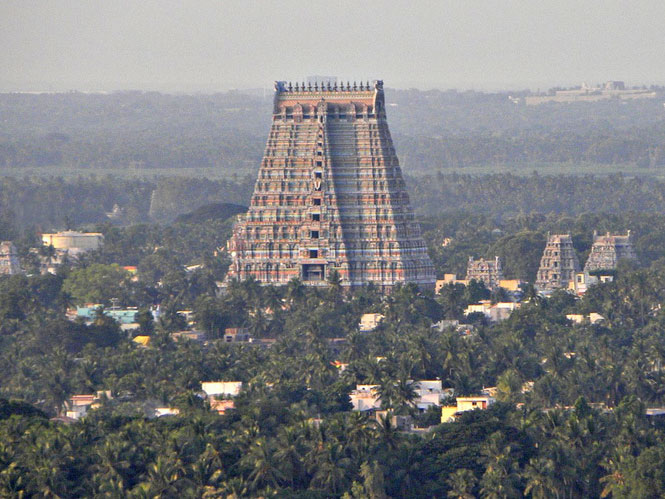 The Temple of Ranganath in Sri Rangam